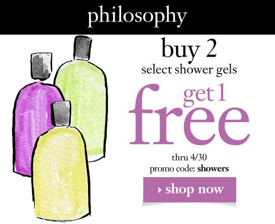 Philosophy 2 for 1 Shower Gels HipshopDeals